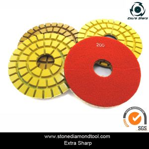 Resin Diamond Concrete Floor Polishing Pads pictures & photos