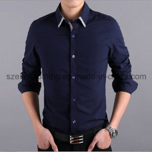 2015 Cheap Custom Men Dress Shirts (ELTDSJ-169) pictures & photos
