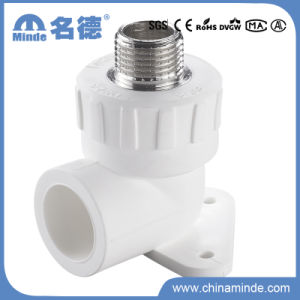 PPR Male Elbow with Disk Type a Fitting for Building Materials pictures & photos