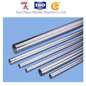 SUS 201, 304 Stainless Steel Welded Pipe 320g Satin pictures & photos