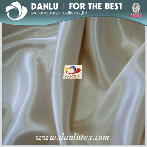 Polyester Satin Fabric for Upholstery and Garment pictures & photos