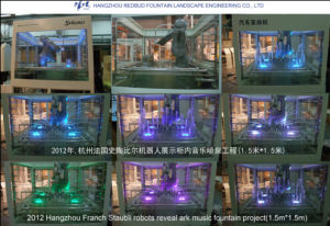 2012 French Staubli Robot Reveal Ark Music Fountain Project in Hangzhou (1.5 m * 1.5 m) pictures & photos