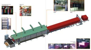 CNC Continuous Foaming Foam Production Line pictures & photos