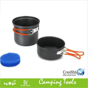 Solo Camping Cookware Set for 1 Person pictures & photos