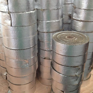 Basalt Fiber Insulation Woven Tape with Aluminium pictures & photos