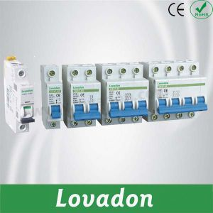Good Quality Dz47-63 Series Miniature Circuit Breaker 10 Ka According IEC 60947-2 and IEC 60947-4 pictures & photos