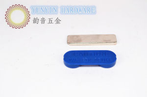 Plastic Coated Magnet Name Badge with 2PCS NdFeB Strong Magnet pictures & photos