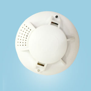 Phototelectric Smoke Detector with Ceiling Type Fire Alarm
