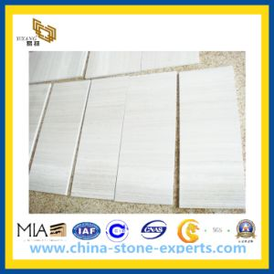 Wooden White Marble Stone Tiles for Wall, Floor, Countertop pictures & photos