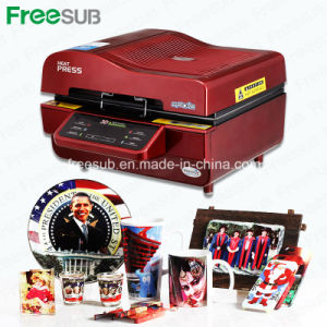 Freesub Most Popular Heat Press with 3D Vacuum Design (ST-3042) pictures & photos