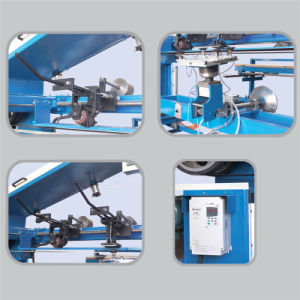 Stroke Sander Twin Belt Grinding Finishing Machine pictures & photos