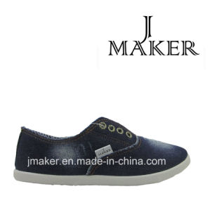 Newest Canvas Denim Cloth Shoes F040-M
