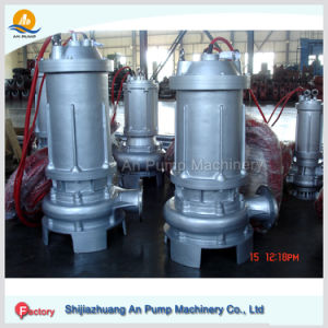 Anti Wear Corrosion Resisting Stainless Steel Submersible Trash Pumps pictures & photos