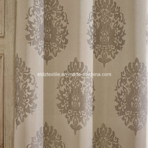 Hot Jacquard Design Shower Curtain and Window Curtain pictures & photos