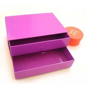Paper Drawer Gift Box/Cardboard Drawer Gift Box/Gift Packaging Paper Box pictures & photos
