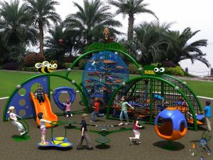 Kaiqi Climbing Play Set for Children′s Playground (KQ50120A) pictures & photos