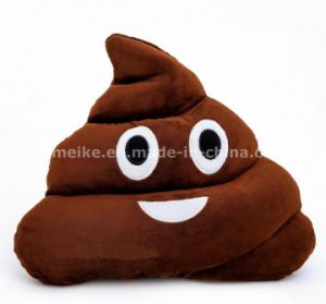 2016 New Funny Plush Stuffed Shit Shape Emoji Pillow China Supplier pictures & photos