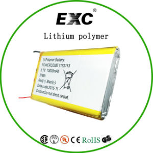 Super Capacity Lithium Polymer Battery 37wh 10000mAh Battery pictures & photos