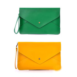 Classic Women Envelop Bag PU Clutch Handbag Wzx1037 pictures & photos