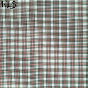 100% Cotton Poplin Woven Yarn Dyed Fabric for Shirts/Dress Rlsc40-19