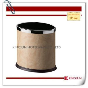 Leather Trash Can for Indoor Use Db-734c pictures & photos