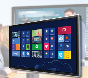 "Riotouch 55"" 65"" HD LED Touch Screen Monitor 10 Users Multi Touch Infrared Technology for School"