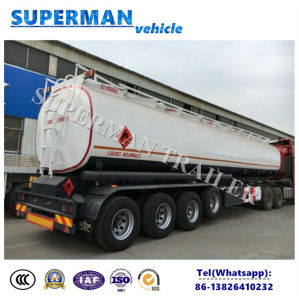 Africa Market 4 Axle Fuel Tanker Oil Trailer with Airbag Suspension pictures & photos