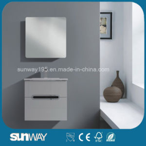 2016 Hot Selling Modern Bathroom Cabinet with Mirror (SW-1507) pictures & photos
