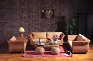 Modern Home Living Room Sofa Sets Rattan Furniture