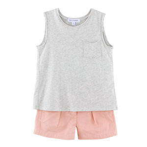 Wholesale Cotton Kids Girls Summer T-Shirt pictures & photos