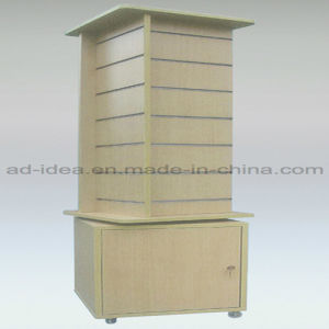 Shoes Slat Wall Stand/Exhibition Stand with Caster pictures & photos