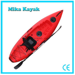 Single Seat Kayak Fishing Cheap Fiberglass Canoe Paddle Boats pictures & photos