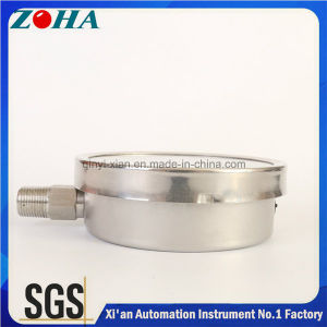 100mm Diameter Ss Pressure Meter with Stainless Steel Material pictures & photos