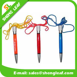 Custom Logo Lanyard Ball Pen (SLF-LP010) pictures & photos