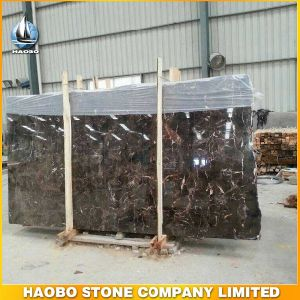 Natural China Dark Emperador Marble Slab pictures & photos