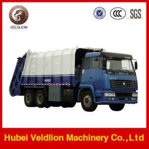 HOWO 15-20ton Compressed Garbage Truck pictures & photos