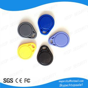 High Quality RFID Keys Tags Fobs Em4100 pictures & photos