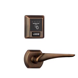 Separate RF57 Hotel Door Lock Unlocked by Card or Emergency Key pictures & photos