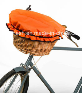 Polyester Waterproof E Bike/Electric Bike/Bike/Bicycle/Pedelec Wicker/Willow Basket Cover pictures & photos