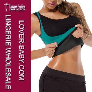 Woman Sport Wear Sweat Shapewear Bodyshaper (L42658-3) pictures & photos