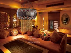 Glorious Brass Arabic Style Pendant Lamp (P607) pictures & photos