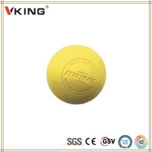 Eco-Friendly Rubber Lacrosse Balls with Ncaa Approved