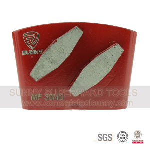 Rhombus Type Diamond Grinding Pad for Concrete and Cement pictures & photos