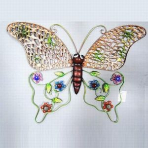 Colorful Hollow Texture Metal Butterfly Decoration for Garden and Home pictures & photos