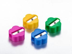 Simple Cheap Pencil Sharpener in Plastic Jar pictures & photos