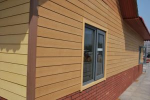 Wood Plastic Composite Exterior Wall Panel/Exterior Wall Panel/WPC Siding pictures & photos