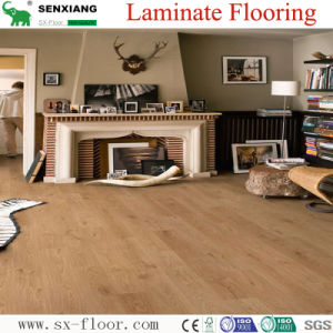 Authentic Oak Textures High Bright U-Groove Laminated Laminate Flooring