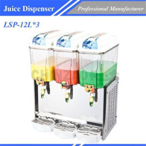 Juice Dispenser Commercial Catering Equipment Lsp-12L*3 pictures & photos