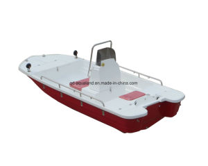 Aqualand 13feet Speed Boat /Fiberglass Rib Motor Boat /Rib Rescue Boat/Rigid Inflatable Boat (130) pictures & photos