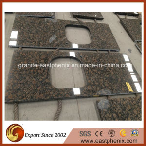 Imported Baltic Brown Natural Granite Kitchen Worktops/Countertop pictures & photos